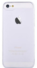 Devia Frosted Hard Case for iPhone SE - Clear