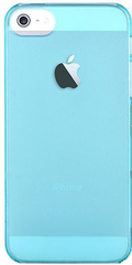 Devia Frosted Hard Case for iPhone SE - Crystal Blue