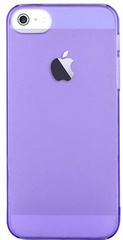 Devia Frosted Hard Case for iPhone SE - Crystal Purple