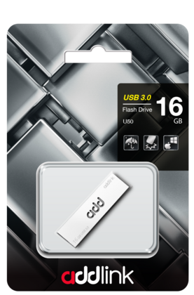 Addlink USB 3.0 Flash Drive 64 GB - Silver