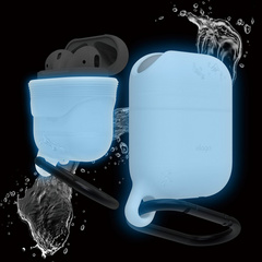 Elago Airpods Waterproof Hang Case - Nightglow Blue