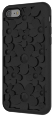 SwitchEasy Fleur case for iPhone 7/8 - Black