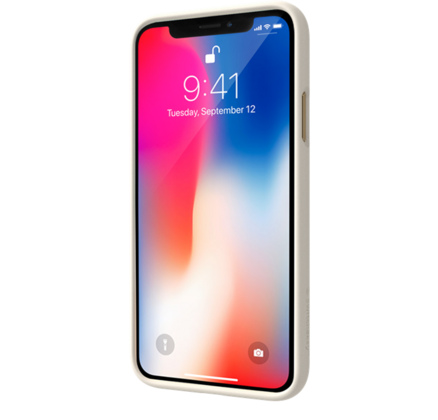 SwitchEasy Fleur case for iPhone Xs - White