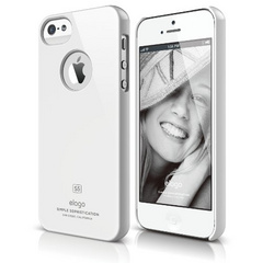 Elago S5 Slim Fit Case for iPhone 5/5s/SE - White
