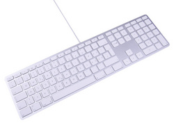 LMP USB Keyboard with numeric keypad - White