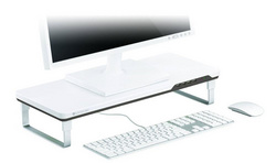 Satechi F3 Smart Monitor Stand - White