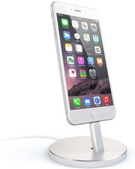 Satechi Aluminum Lightning Charging Stand - Silver