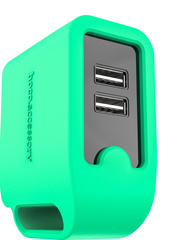 Hoco Smart Rapid Wall Charger - Green
