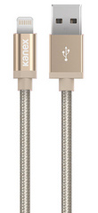 Kanex Premium DuraBraid Lightning Cable - Gold