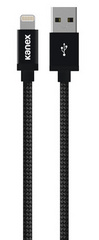 Kanex Premium DuraBraid Lightning Cable - Black