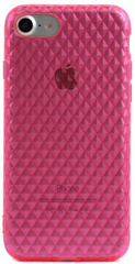 Inner Exile GEM Protective Case TPU for iPhone 7 - Transparent Pink