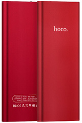 Hoco UltraSlim Power Bank 10.000 mAh - Red