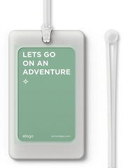 Elago Luggage Tag - Transparent