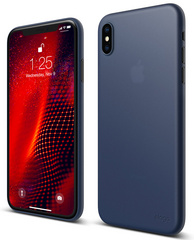 Elago Inner Core Case for iPhone Xs - Jean Indigo