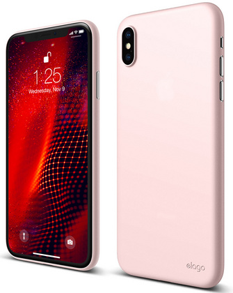 Elago Inner Core Case for iPhone Xs Max - Lovely Pink