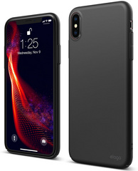 Elago Slim Fit Case for iPhone Xs - Black