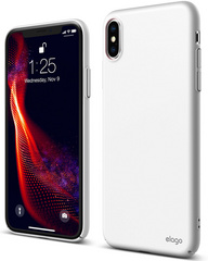 Elago Slim Fit Case for iPhone Xs - White