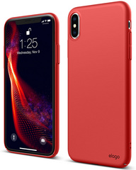 Elago Slim Fit Case for iPhone Xs - Red