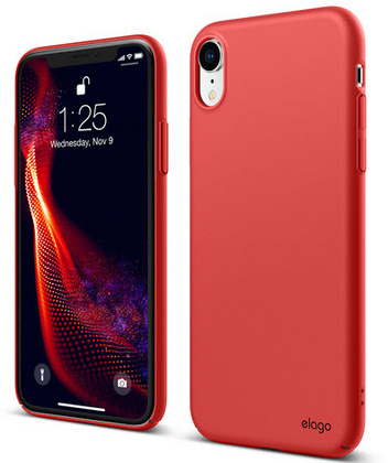 Elago Slim Fit for iPhone Xr - Red
