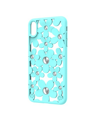 SwitchEasy Fleur case for iPhone X - Mint