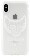 SwitchEasy Monster Case for iPhone Xs - Translucent Clear