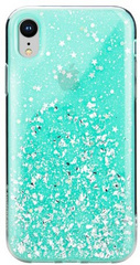 SwitchEasy Starfield Case for iPhone Xr - Mint