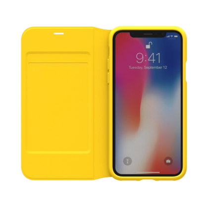 Booklet Case - Yellow