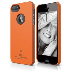 Elago S5 Slim Fit Case for iPhone 5/5s/SE - Soft Feeling Orange