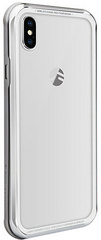 SwitchEasy iGlass Case for iPhone Xs Max - Silver