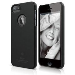 S5 Slim Fit Case - Soft Feeling Black