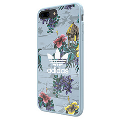 Snap Case Floral (grey)