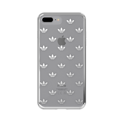 Clear Case (silver colored)