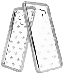 Clear Case - Silver colored