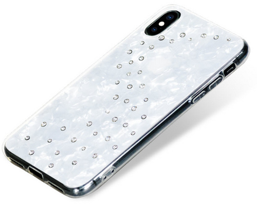 BMT Milky Way Crystal case for iPhone X/Xs