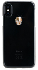 BMT Treasure Clear Gold Skull case for iPhone X/Xs