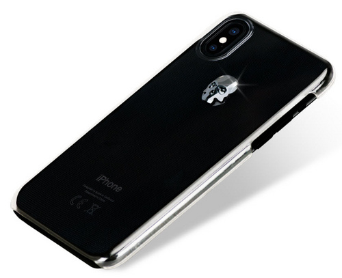 BMT Treasure Clear Jet Skull case for iPhone X/Xs