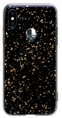 BMT Treasure Black Silver Skull case for iPhone X/Xs
