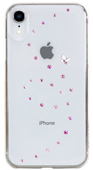 BMT Papillon Rose Sparkles case for iPhone Xr