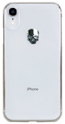 BMT Treasure Clear Silver for iPhone Xr