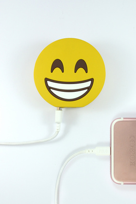Moji Powerbank 2600 mAh - Happy Double Face