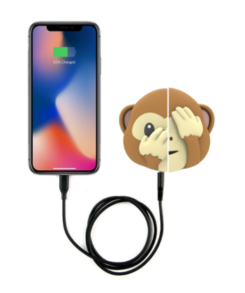 Moji Powerbank 2600 mAh - Monkey Double Face