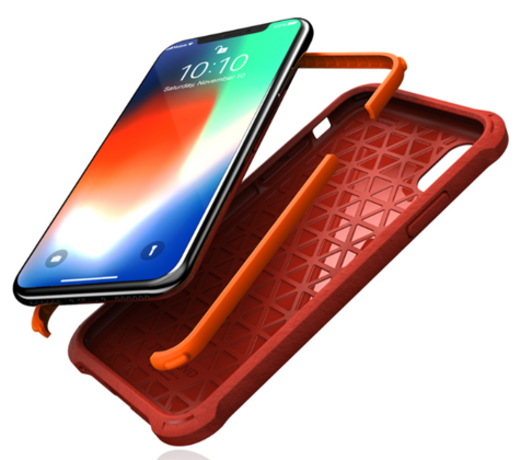 JT Legend Guardian Z Case for iPhone Xs Max - Code Red