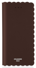 JT Legend Biscuit Flip Case for iPhone X/Xs - Cocoa