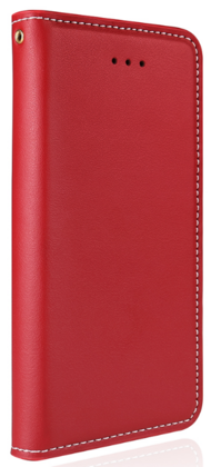 JT Legend Cowhide Flip Case for iPhone X/Xs - Red