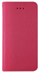 JT Legend Cowhide Flip Case for iPhone X/Xs - Fuchsia