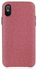 JT Legend Fabric Case for iPhone Xs Max - Pink