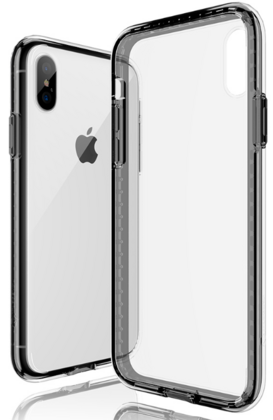 JT Legend Hybrid Cushion Case for iPhone X/Xs - Crystal Black