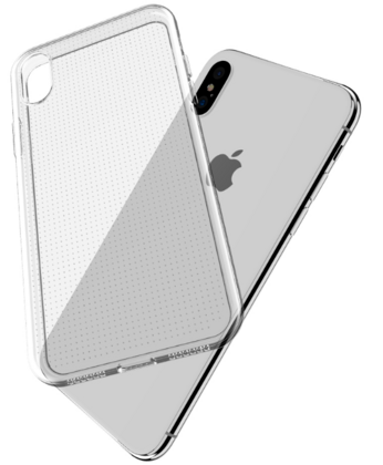 JT Legend Suit TPU Case for iPhone X - Clear