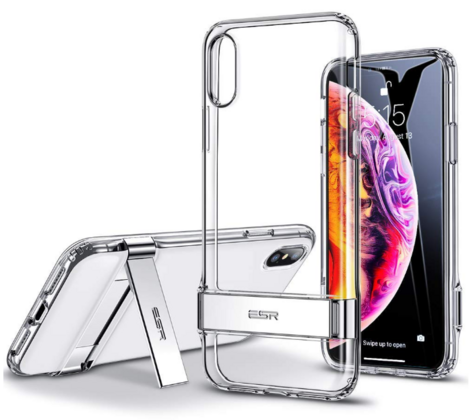 ESR Durable Kickstand for iPhone X/Xs - Silver