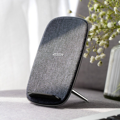 ESR Wireless Charger - Gray Fabric